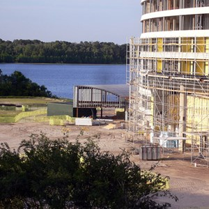 6 of 13: Bay Lake Tower at Disney's Contemporary Resort - Latest Bay Lake Tower construction photos