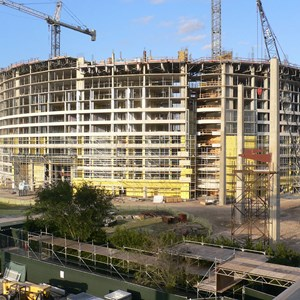 10 of 13: Bay Lake Tower at Disney's Contemporary Resort - Latest Bay Lake Tower construction photos