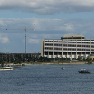 1 of 8: Bay Lake Tower at Disney's Contemporary Resort - Latest Bay Lake Tower construction photos