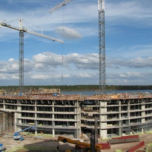 5 of 8: Bay Lake Tower at Disney's Contemporary Resort - Latest Bay Lake Tower construction photos