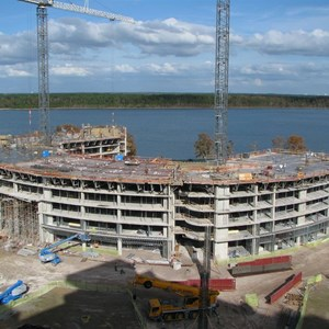 6 of 8: Bay Lake Tower at Disney's Contemporary Resort - Latest Bay Lake Tower construction photos