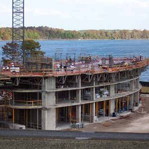 4 of 6: Bay Lake Tower at Disney's Contemporary Resort - Latest Bay Lake Tower construction photos