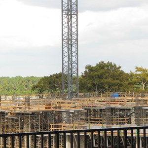 1 of 3: Bay Lake Tower at Disney's Contemporary Resort - Latest Bay Lake Tower construction photos