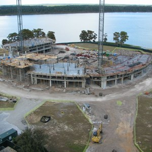 2 of 3: Bay Lake Tower at Disney's Contemporary Resort - Latest Bay Lake Tower construction photos