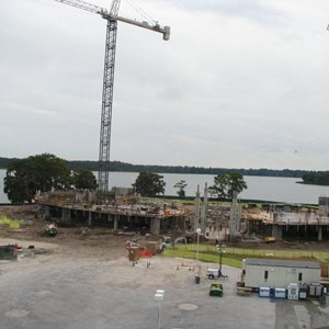 4 of 14: Bay Lake Tower at Disney's Contemporary Resort - Latest Bay Lake Tower construction photos