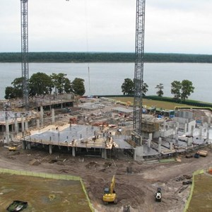 7 of 14: Bay Lake Tower at Disney's Contemporary Resort - Latest Bay Lake Tower construction photos