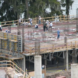 9 of 14: Bay Lake Tower at Disney's Contemporary Resort - Latest Bay Lake Tower construction photos