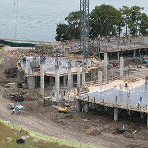 10 of 14: Bay Lake Tower at Disney's Contemporary Resort - Latest Bay Lake Tower construction photos
