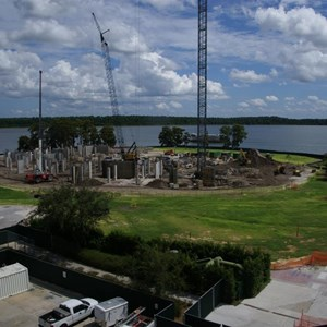 1 of 4: Bay Lake Tower at Disney's Contemporary Resort - Latest Bay Lake Tower construction photos