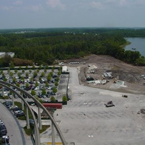 1 of 5: Bay Lake Tower at Disney's Contemporary Resort - Latest progress photos on the Contemporary North Wing demolition