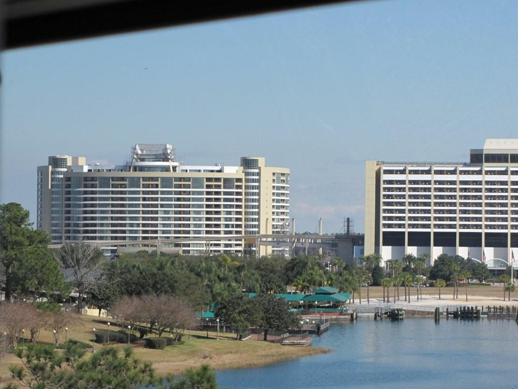 Latest bay lake tower construction photos photo 2 of 18 for Contemporary hotel