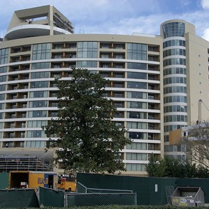 4 of 11: Bay Lake Tower at Disney's Contemporary Resort - Latest Bay Lake Tower construction photos