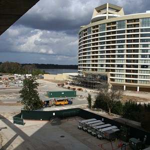 8 of 11: Bay Lake Tower at Disney's Contemporary Resort - Latest Bay Lake Tower construction photos