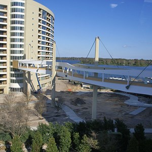 2 of 4: Bay Lake Tower at Disney's Contemporary Resort - Latest Bay Lake Tower construction photos