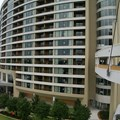 Bay Lake Tower at Disney&#39;s Contemporary Resort - The view from the beginning of the Contemporary Tower to Bay lake Tower walkway known as the Sky Way Bridge