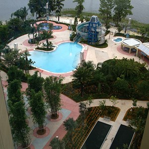 7 of 38: Bay Lake Tower at Disney's Contemporary Resort - Bay Cove Pool
