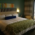 Bay Lake Tower at Disney's Contemporary Resort - Master bedroom of the Grand Villa with own private balcony