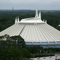 Bay Lake Tower at Disney&#39;s Contemporary Resort - Space Mountain viewed from the outdoor viewing location on the Bay Lake Tower rooftop