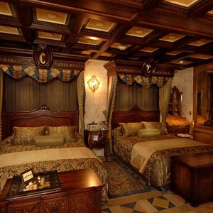 1 of 6: Cinderella Castle Suite - Copyright 2007 The Walt Disney Company.