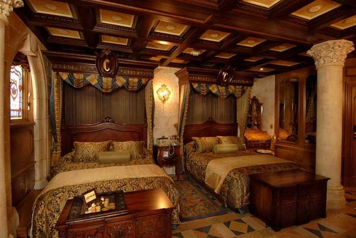 Cinderella Castle Suite interior