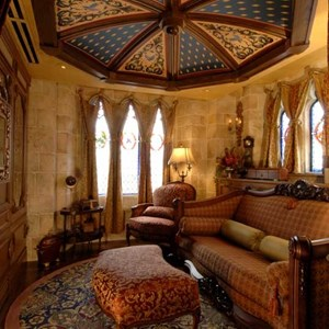 3 of 6: Cinderella Castle Suite - Copyright 2007 The Walt Disney Company.