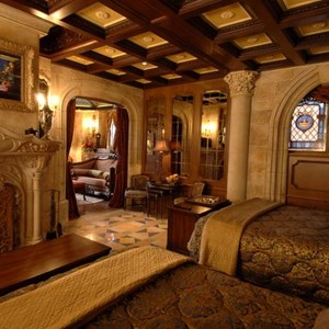 2 of 6: Cinderella Castle Suite - Copyright 2007 The Walt Disney Company.