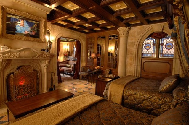 Cinderella Castle Suite - Copyright 2007 The Walt Disney Company.