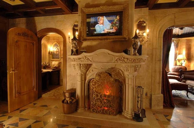 Cinderella Castle Suite - Copyright 2007 The Walt Disney Company.