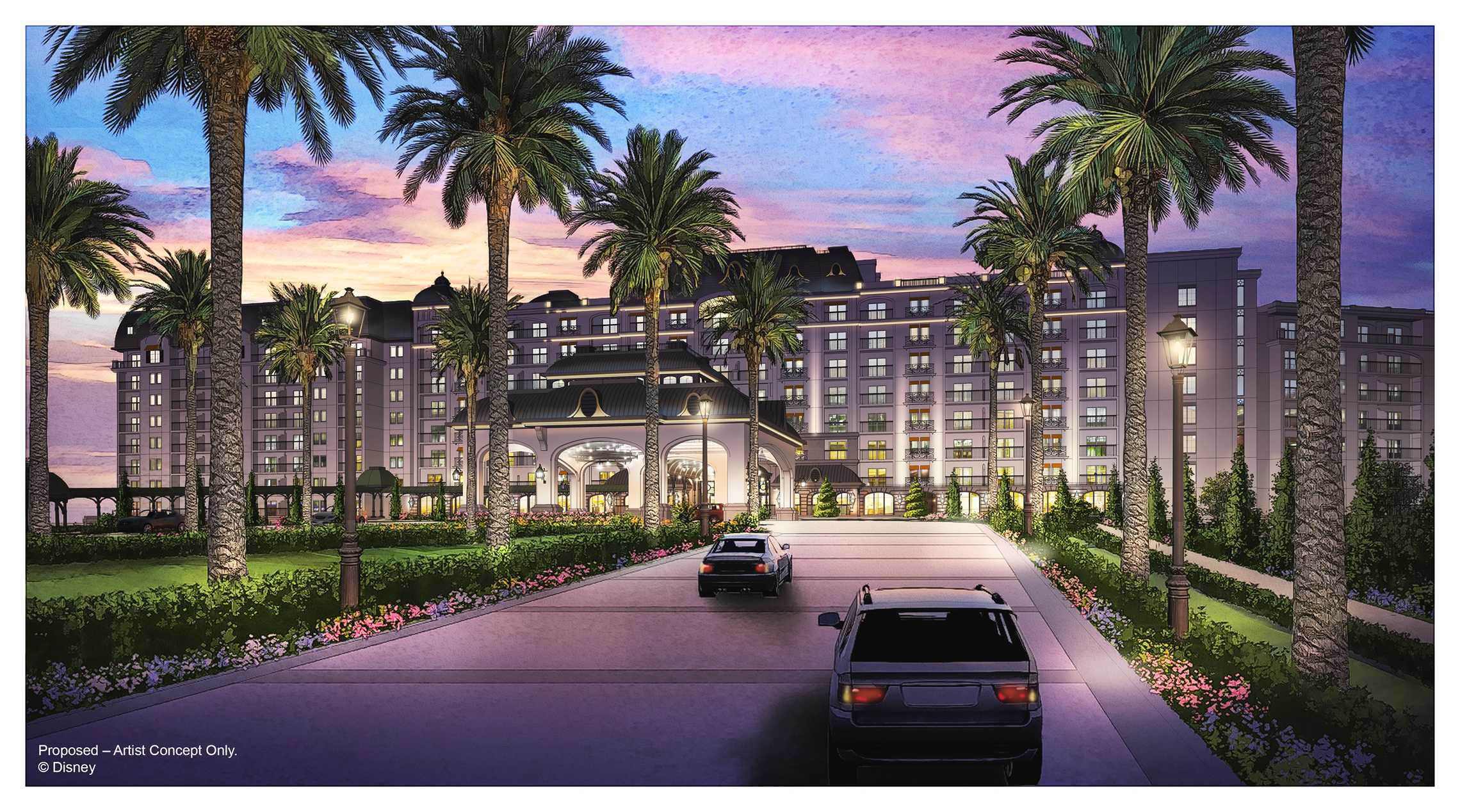 New disney riviera resort near epcot to open fall 2019 for Hotels disney