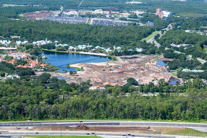 PHOTOS - Construction gets underway at Disney Riviera Resort
