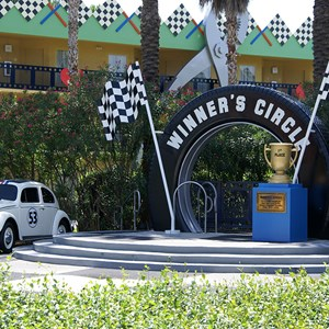 3 of 4: Disney's All Star Movies Resort - Herbie The Love Bug buildings