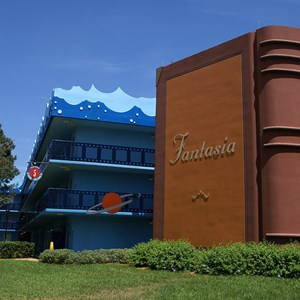 1 of 8: Disney's All Star Movies Resort - Fantasia buildings