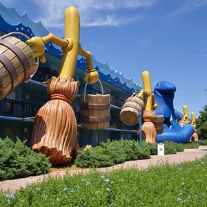 3 of 8: Disney's All Star Movies Resort - Fantasia buildings