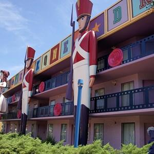 8 of 8: Disney's All Star Movies Resort - Fantasia buildings