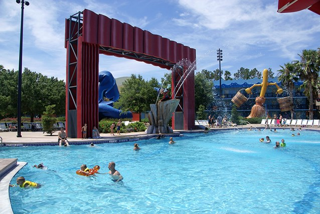 Disney's All Star Movies Resort - The Fantasia pool