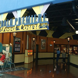 7 of 11: Disney's All Star Movies Resort - All Star Movies Resort - Cinema Hall lobby and food court