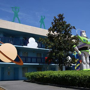 6 of 6: Disney's All Star Movies Resort - Toy Story buildings