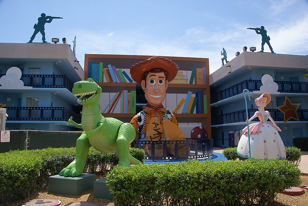 Toy Story buildings