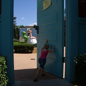 1 of 6: Disney's All Star Movies Resort - Toy Story buildings