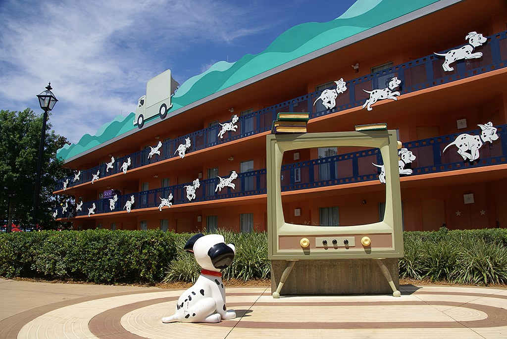 101 Dalmations buildings