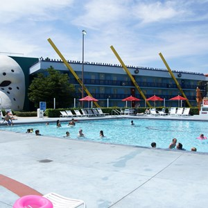 6 of 8: Disney's All Star Movies Resort - The Mighty Ducks pool