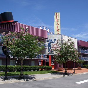 2 of 4: Disney's All Star Music Resort - Broadway Hotel buildings
