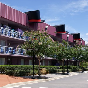 4 of 4: Disney's All Star Music Resort - Broadway Hotel buildings