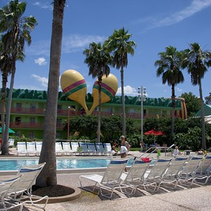 2 of 2: Disney's All Star Music Resort - Calypso buildings