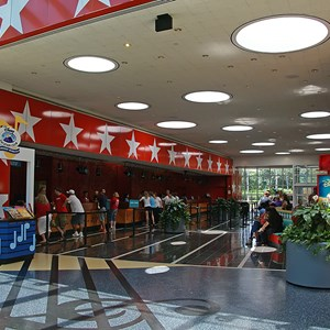1 of 11: Disney's All Star Music Resort - All Star Music Resort - Melody Hall lobby and food court