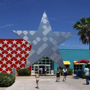 10 of 11: Disney's All Star Music Resort - All Star Music Resort - Melody Hall lobby and food court