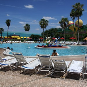 3 of 8: Disney's All Star Music Resort - The Calypso Pool