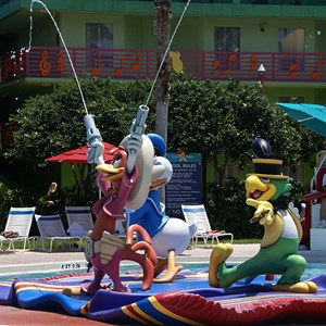 4 of 8: Disney's All Star Music Resort - The Calypso Pool