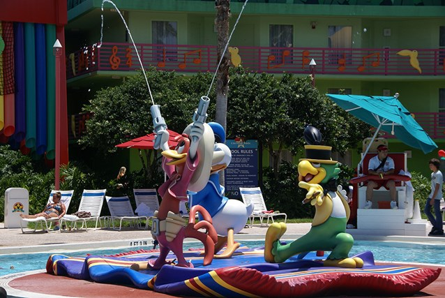 Disney's All Star Music Resort - The Calypso Pool