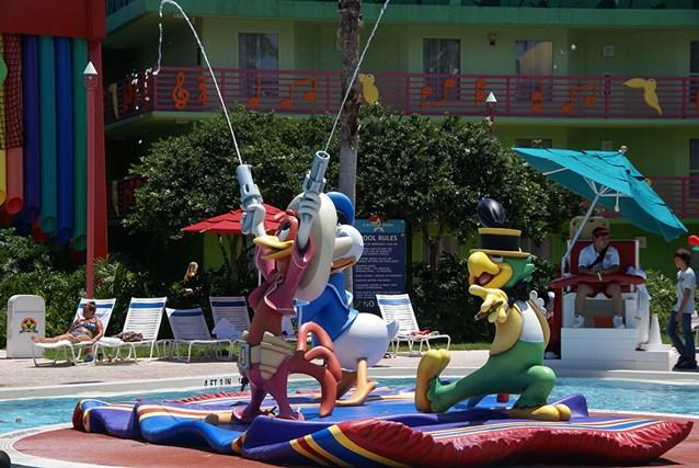 Disney's All Star Music Resort - The Calypso Pool